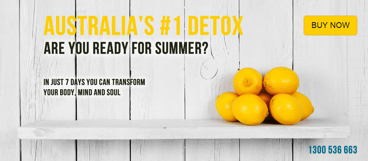 The lemon detox diet - Australia's number 1 detox programme